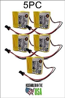 5pc Lithonia ELB-B002 Battery Emergency Light 3.6v 2.2Ah NiCD ELBB002