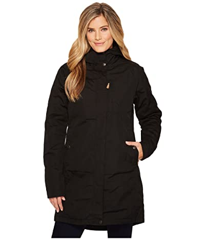 Fjallraven Kiruna Padded Parka (Black) Women