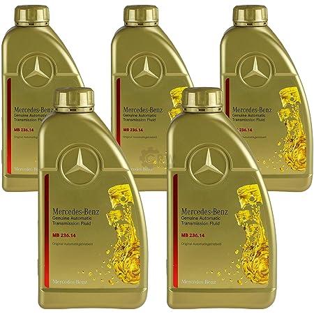 5x 1 Liter Original Mercedes Benz Atf Getriebeöl Mb 236 14 Auto