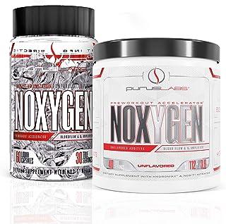 Noxygen Powder & Liquid Capsules Pre-Workout Accelerator Bundle