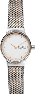 Freja Stainless Steel Minimalist Watch