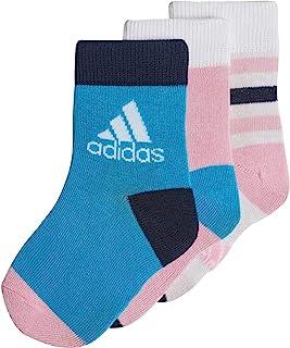 adidas, Lk Ankle S 3pp Calcetines Bebé-Niños
