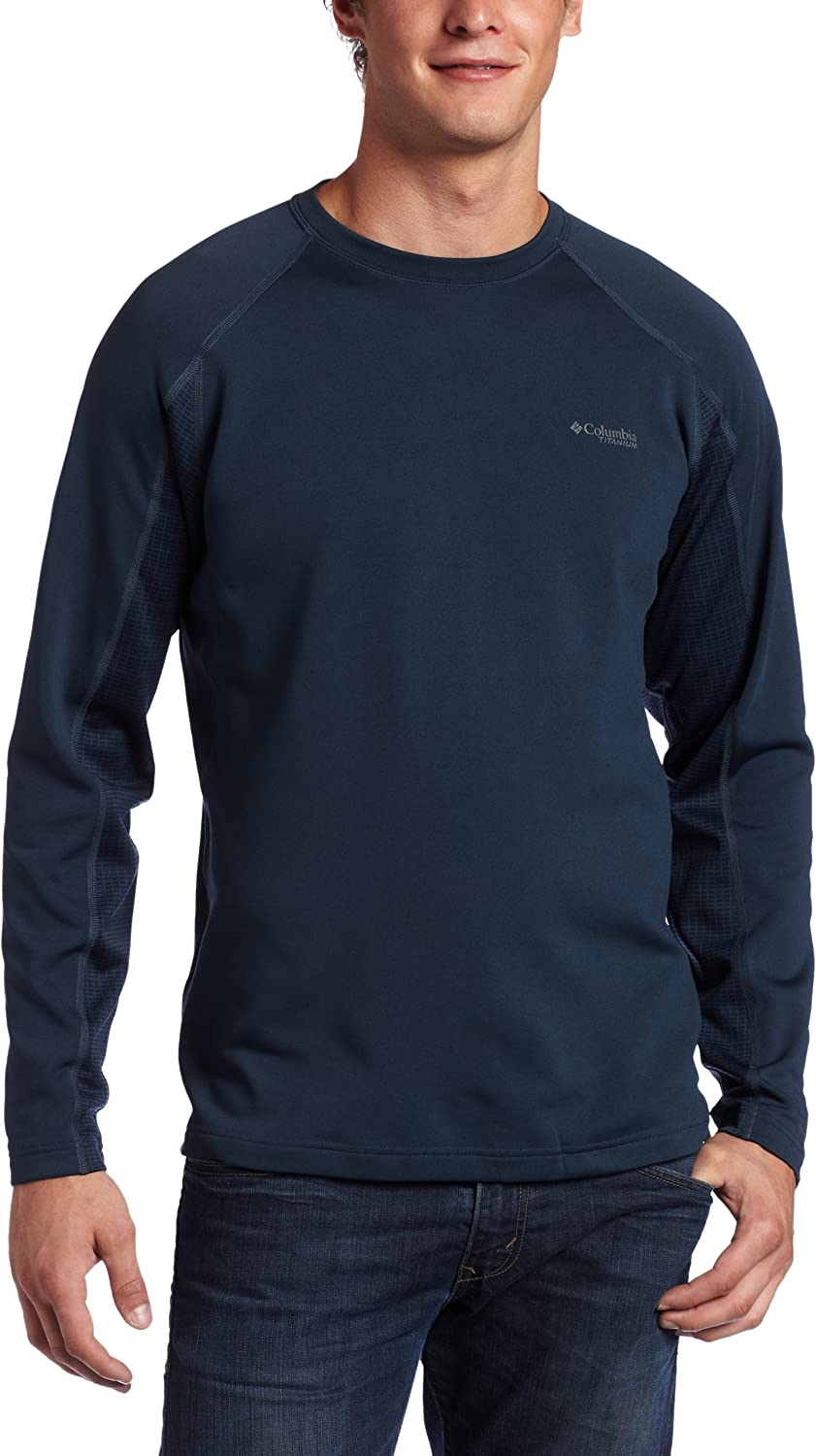 Columbia New products, world's highest quality popular! Men's Mountain Base Max 61% OFF Long Knit Crew Top Sleeve