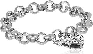 MESTIGE Women Crystal Heart-throb Bracelet with Swarovski Crystals