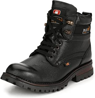 SHOE DAY Woodland Men's Leather Boots