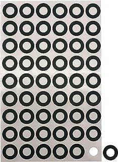 Birllaid 18650 Battery Insulator Ring Self-Adhesive Electrical Insulating Cardboard 216pcs