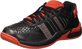 Kempa 男士进攻组合青少年Ebbe & Flut 手球鞋,黑色 (Schwarz/Lighthouse Rot 04),英国