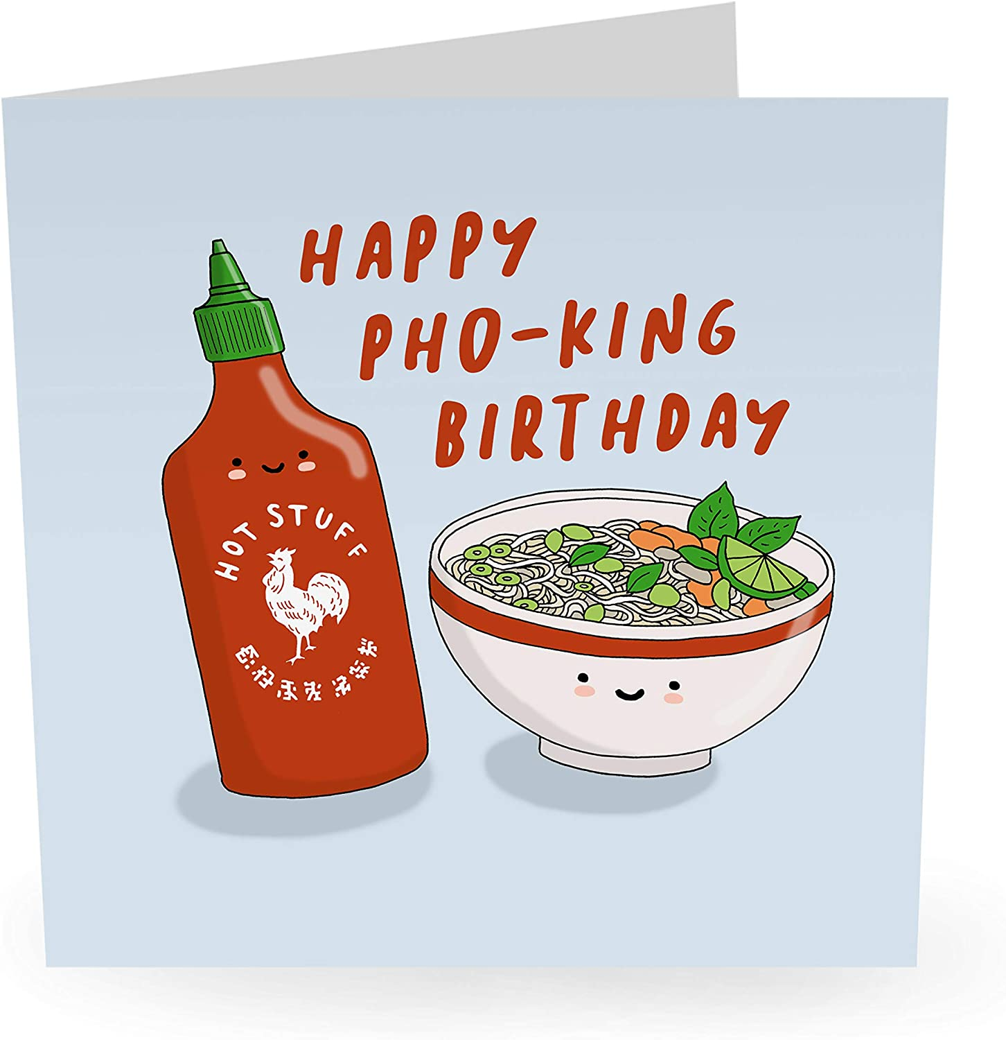 """Central 23 Save money - Funny Card Pho-King Birthday Baltimore Mall """"Happy"""