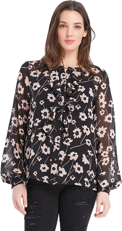 Juicy Couture Black Label Women's Floral Woven Top