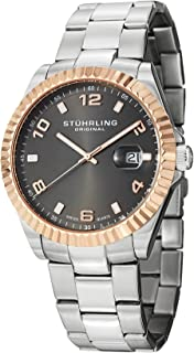 Stuhrling Original Men's 499.332A154 Regency Date Silver