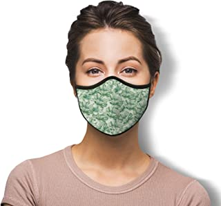 WITH U Washable Reusable Face Masks - 3-Layer Protections, Adjustable Ear Loops, Designer Prints - Made in USA - PM4056 Re...