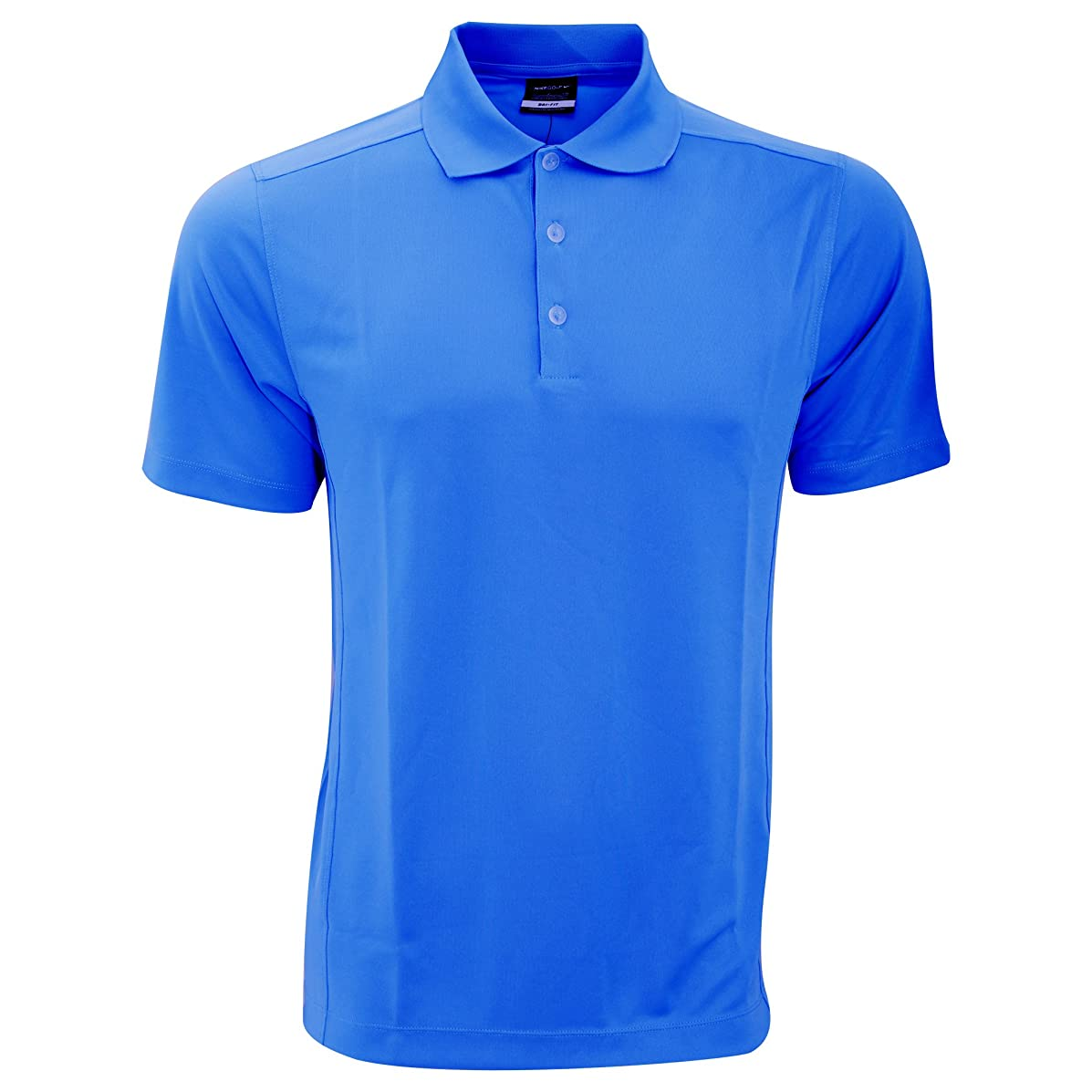 Nike Golf Mens SMU Plain Solid Knit Short Sleeve Polo Shirt