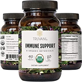 Sponsored Ad - Truvani Immune Support | Organic Herbal Supplement for Immune Support | Vitamin C | 8 Natural Ingredients |...