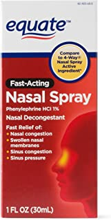 PACK OF 14 - Equate Fast Acting Nasal Spray, 1 fl oz