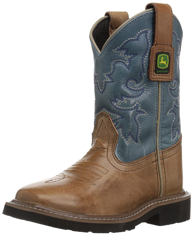 John Deere Kids' JD2556 Western Boot
