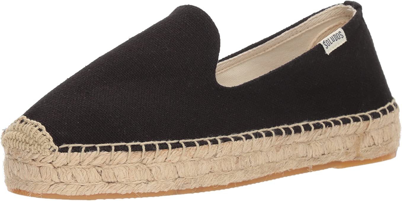 Soludos Platform Women's Smoking Slipper