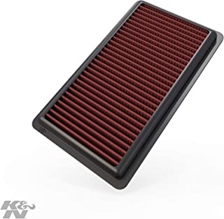 K&N engine air filter, washable and reusable: 2004-2019 Nissan/Chevy/Venucia (NV200, AD, Cube, Evalia, Wingroad, March, Micra, Bluebird Sylphy, City Express, R50 and other select models) 33-2375