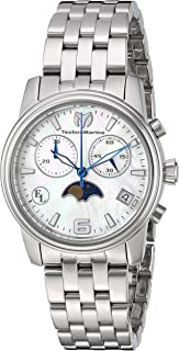 Technomarine Women's Eva Longoria Quartz Watch with Stainless-Steel Strap, Silver, 18 (Model: TM-416015)