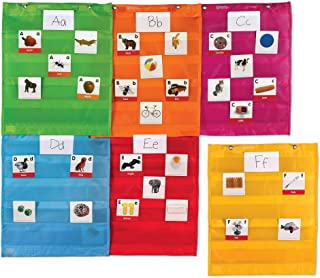Learning Resources Magnetic Pocket Chart Squares, Classroom/Teacher Organizer, All Grades, Set of 6