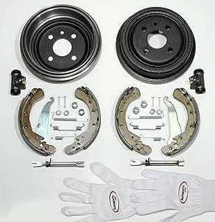 Autoparts-Online Set 60004552 Bremsscheiben Bel/üftet//Bremsen Bremskl/ötze f/ür Hinten//f/ür die Hinterachse