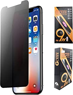 A&M81 (2 Pack) Anti-Spy Protective Glass for iPhone 11 Pro, XS and X