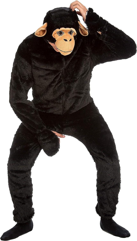 Desconocido My Other Me-204363 Disfraz de chimpancé, S (Viving Costumes 204363)