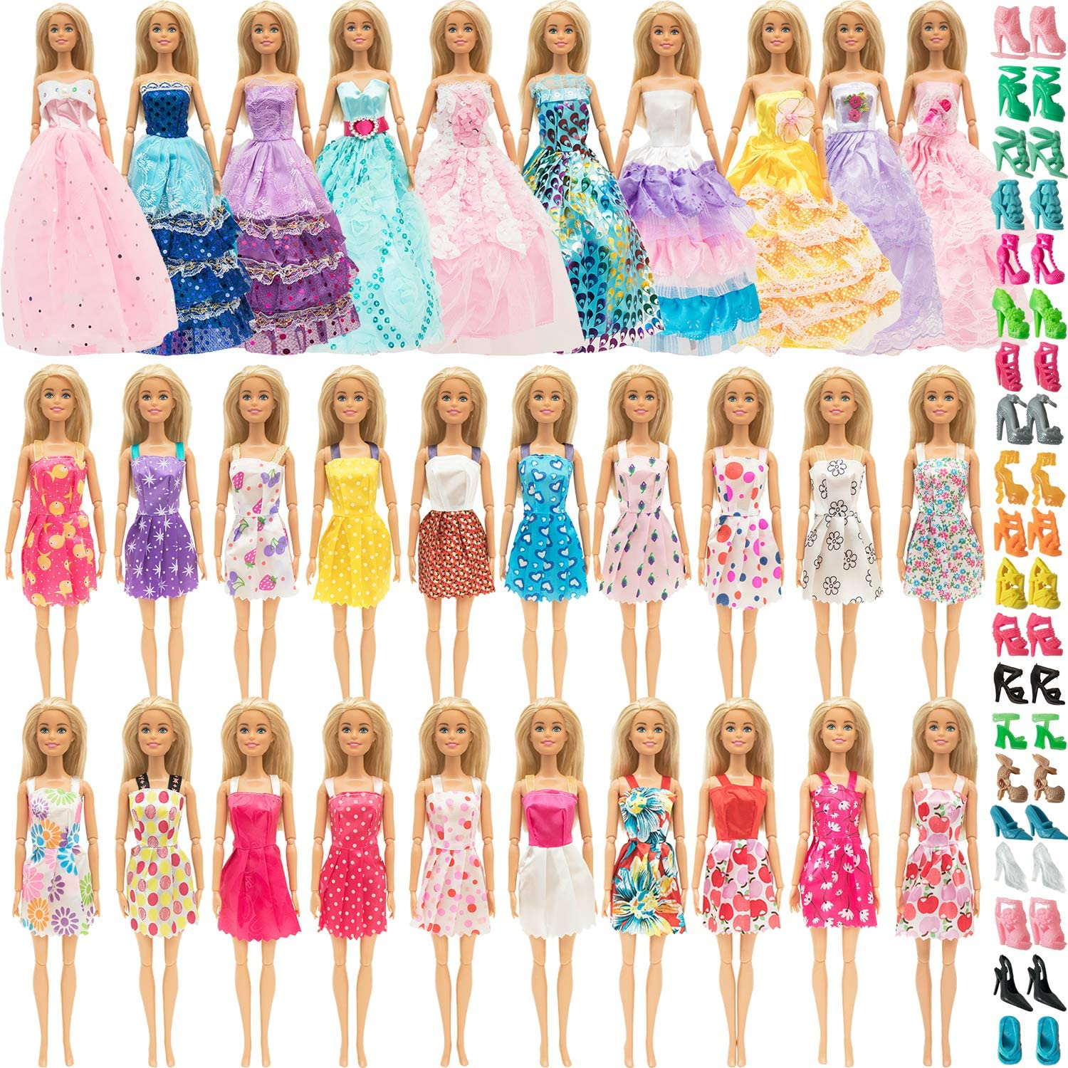 SOTOGO Doll Clothes and Accessories for Houston Mall Girl Fash Max 57% OFF Inch 11.5