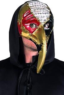 Boland 00283 - Plague Doctor Máscara de Venecia, Oro