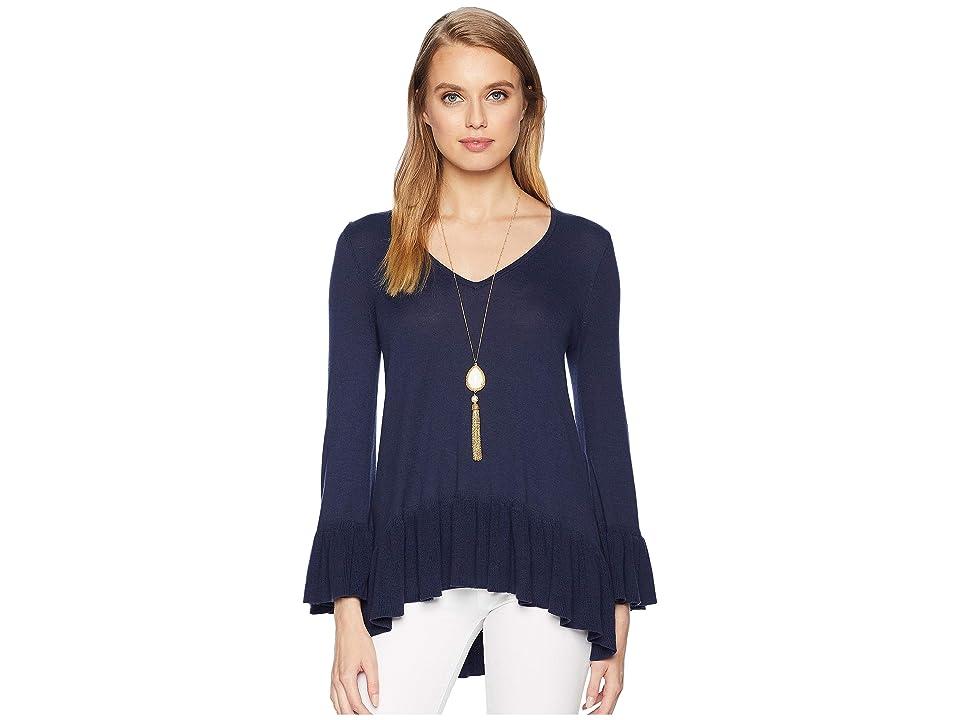 Lilly Pulitzer Adela Sweater (True Navy) Women