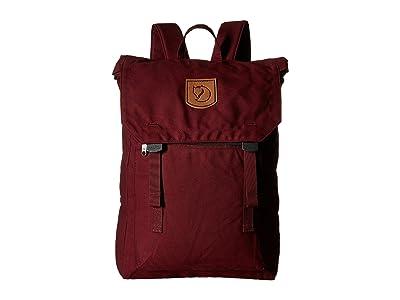 Fjallraven Foldsack No. 1 (Dark Garnet) Backpack Bags