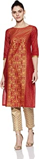 Aurelia Women's Straight Kurta
