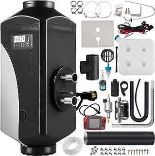 VEVOR Diesel Luchtverwarmer 12 V / 5 KW, Standkachel Brandstofverbruik 0,11-0,51 L/h, Aluminium Autoverwarming Standkache...