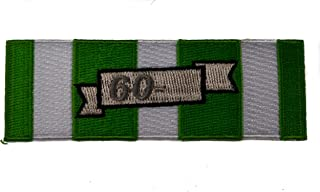 Vietnam Campaign Date Bar 60 Ribbon Iron or Sew on embroidered Patch D38