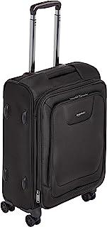 AmazonBasics Premium Expandable Softside Spinner Luggage...