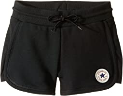 Converse Kids CTP Rib Panel Shorts (Big Kids)