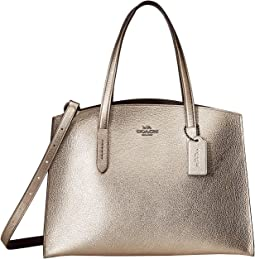 Metallic Leather Charlie Carryall