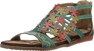 L'Artiste by Spring Step Women's MARIBEL Sandals, turquoise, 40 M EU (US 9)