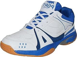 Port Womens White Badminton Shoes