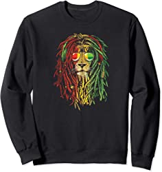 Rasta Lion Sweatshirt