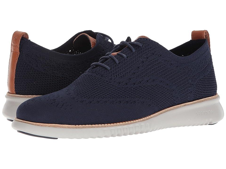 Cole Haan 2.Zerogrand Stitchlite Oxford (Marine Blue/Vapor Grey) Men