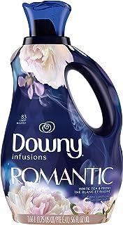 P&G ダウニー インフュージョン 柔軟剤 ロマンティック/ホワイトティー&ピオニー (シャクヤクの花にホワイトティーを添えた甘くやさしい香り) 1.66L
