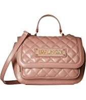LOVE Moschino - Shiny Quilted Handbag