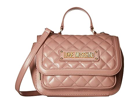 LOVE Moschino Shiny Quilted Handbag