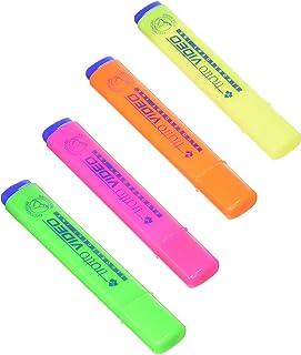 a Scatto Punta Media da 1,0mm Confezione da 12 Pezzi Bic Soft FeelClic Grip Penna a Sfera Astuccio da 6 Colore Nero /& STABILO Boss Original Pastel Evidenziatore