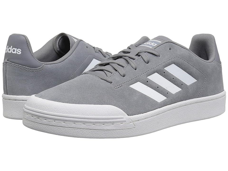 adidas Court 70s (Grey/White/White) Men