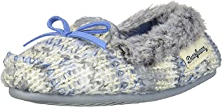 Dearfoams Kids Toddlers Sparkle Fairisle Moccasin Slipper