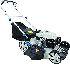 white brand lawn mower