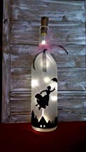 Mary Poppins Wine Bottle Decoration Gift Glass