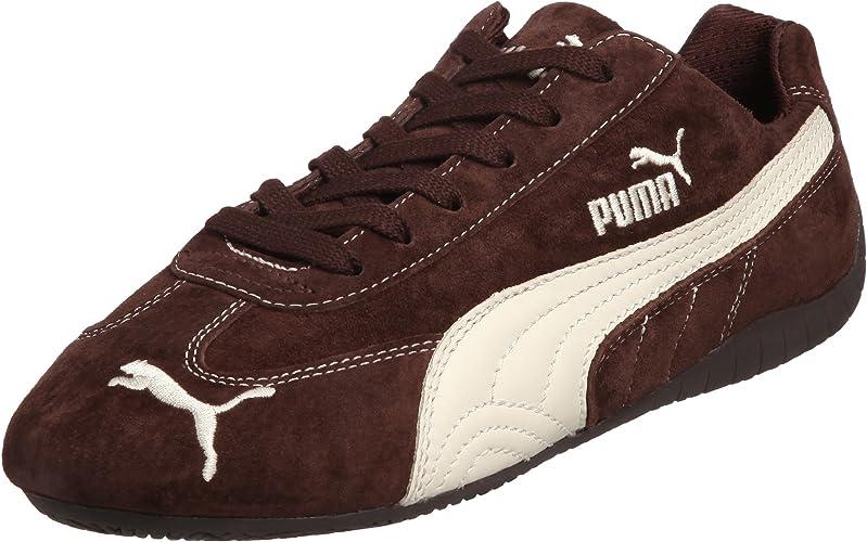 PUMA Chaussures Speed Cat Suede Marron (41) : Amazon.fr ...