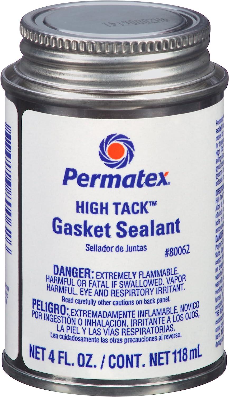 Permatex 80062 High Tack Gasket Sacramento Mall 4 Max 73% OFF Black oz. Sealant